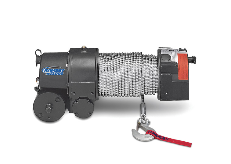 re 12,000 12 volt electric worm gear winch with roller fairlead Polaris Winch Wiring Diagram re 12,000